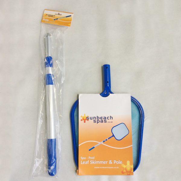 leaf skimmer and pole packaging