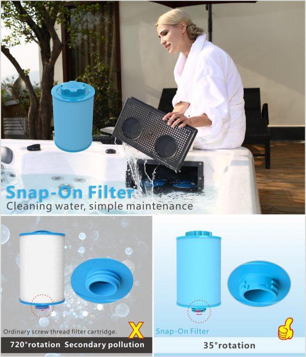 snap-on-filter